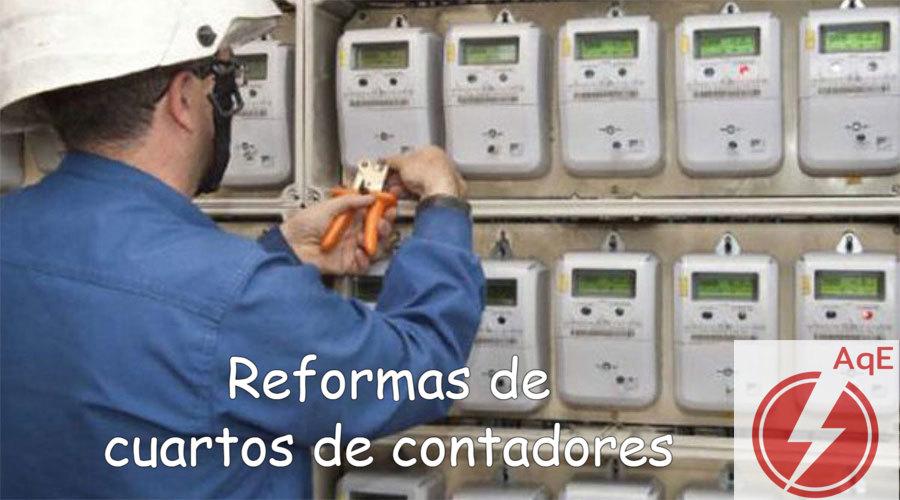 Reforma de cuartos contadores electricos en Manises