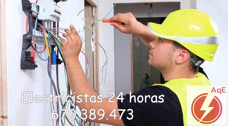 Electricistas en La Pobla de Vallbona