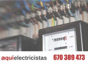 reforma cuarto contadores electricos