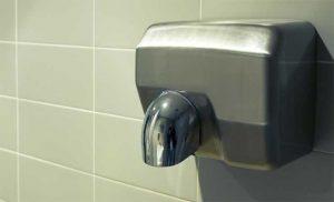 Instalar secador de manos