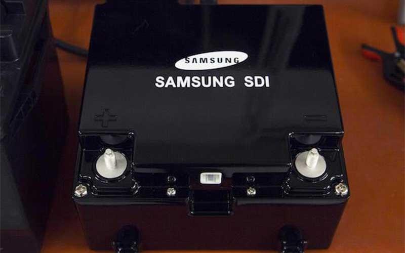nuevas baterías de Samsung
