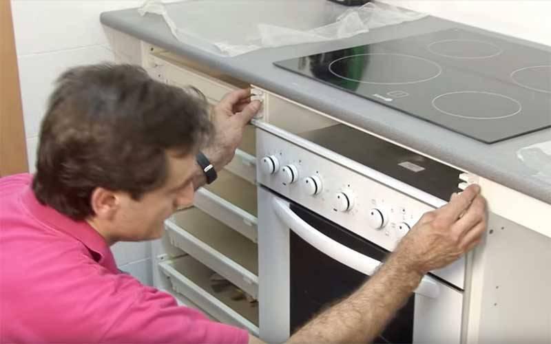 instalacion vitroceramica y horno